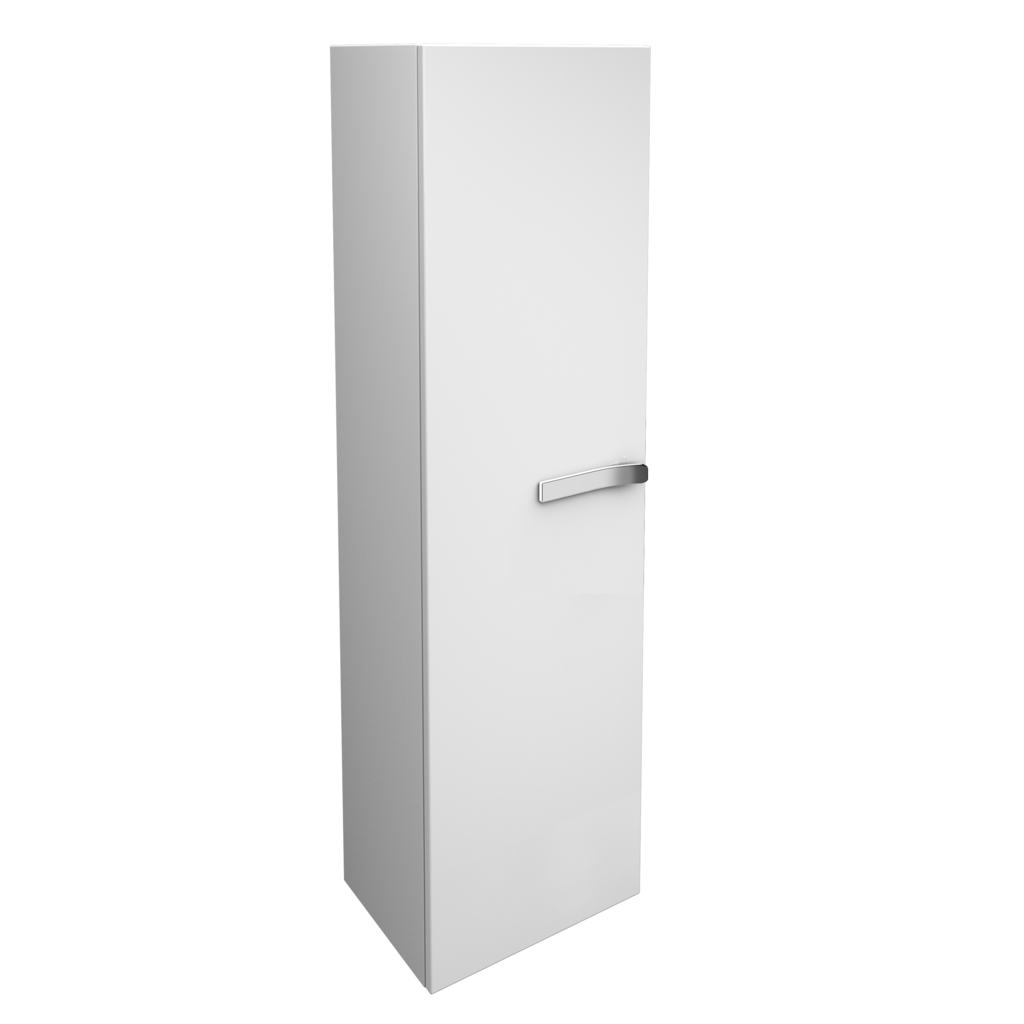 Wall Mounted Tall Storage Unit, right hand