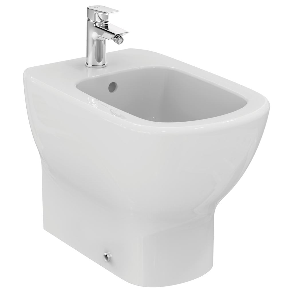 Back-to wall bidet