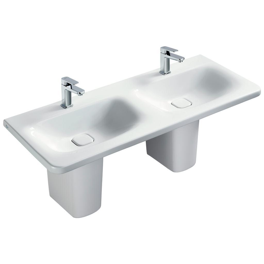 Vanity 120x50 cm - DOUBLE BASIN