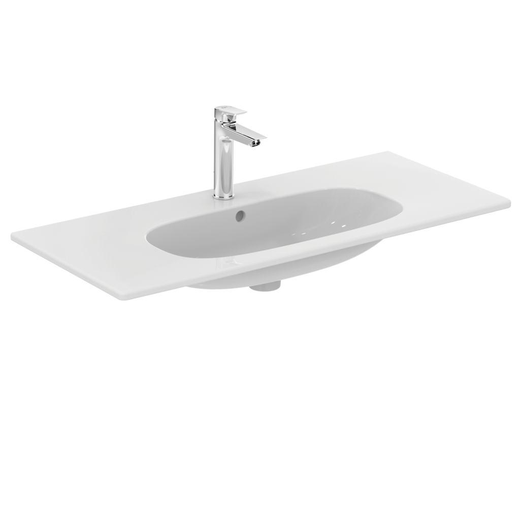 Ideal Standard Lavabo Tesi.Ideal Standard T3508 Vanity Basin 103 Cm