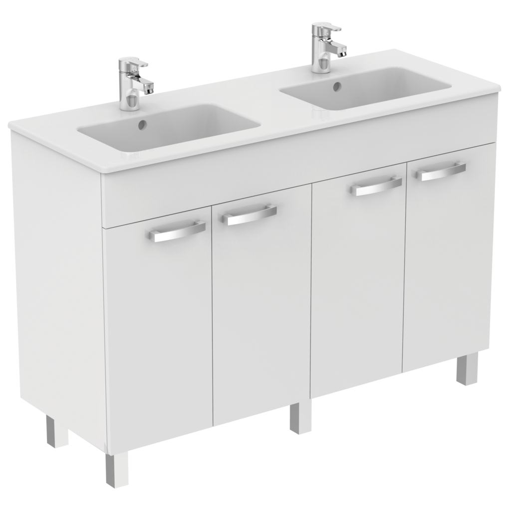Ulysse e0543 meuble lavabo plan idealspec france for Meuble lavabo