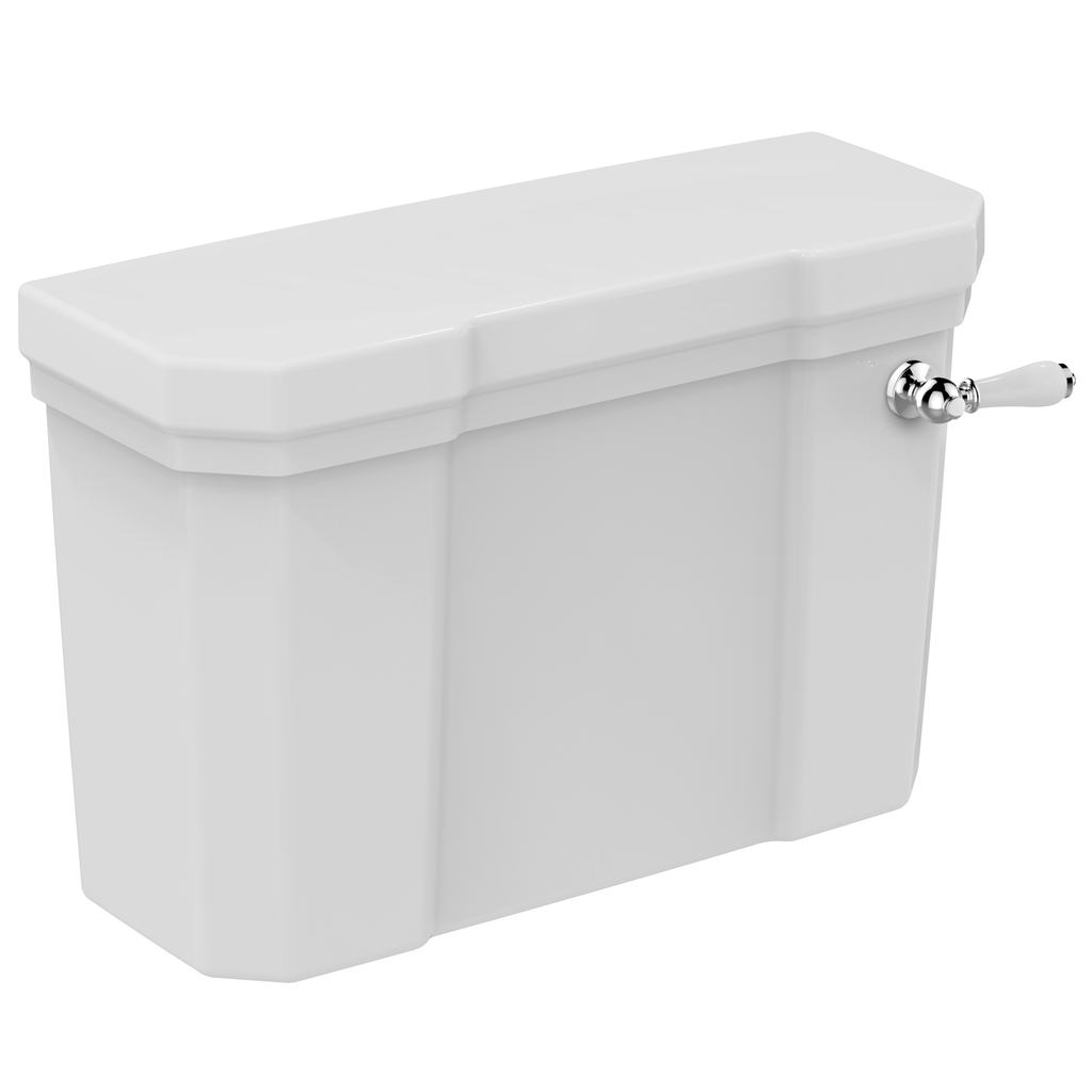 Close Coupled Dual Flush Lever Action Cistern - 6/4 litre