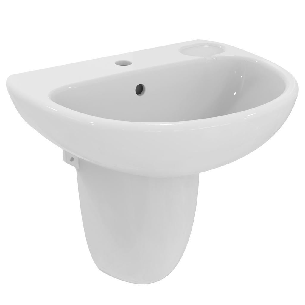 56cm Washbasin, 2 tapholes