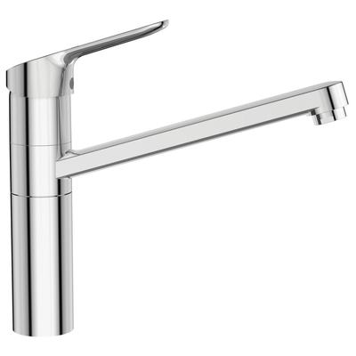 """Sink mixer """"Blue Start"""" C3, with tubular high attached spout"""