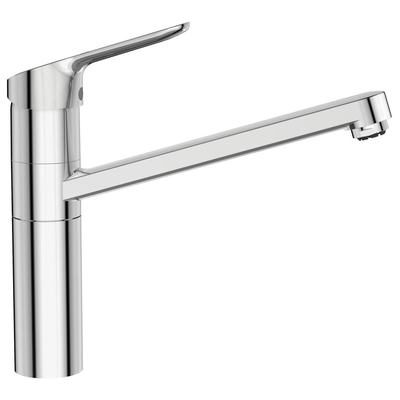 """Sink mixer """"Blue Start"""" C3, with tubular high attached spout, for low pressure ND"""