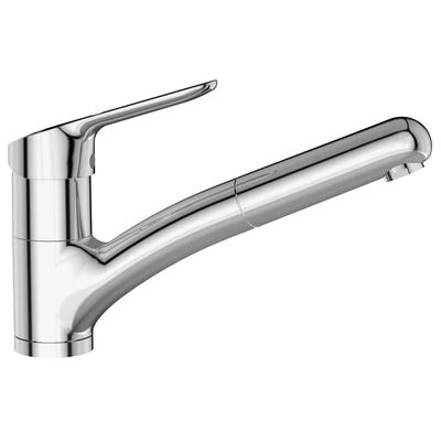 """Sink mixer """"Blue Start"""" C3, with casted pull-out spout"""