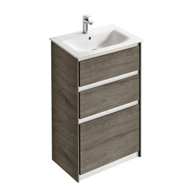 60CM FS Vanity unit with 2 drawers