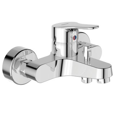 Exposed bath & shower mixer Chrome