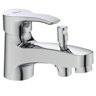 Bath&Shower mixer rim mounted Chrome