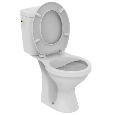 Floor standing close coupled WC combination - Rimless Euro White