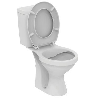 WC комплект без ринг Бял