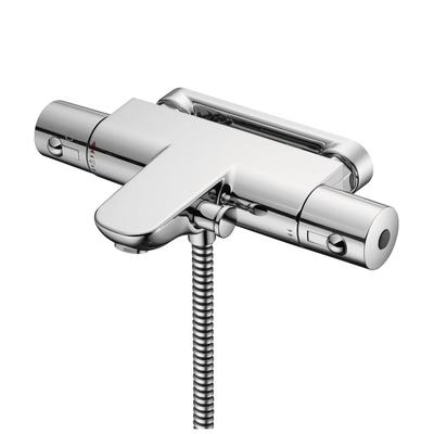 Thermostatic Wall Mounted Bath Shower Mixer