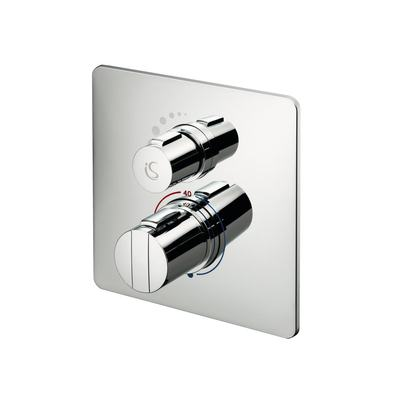 Easybox Slim Built In Thermostatic Shower Mixer