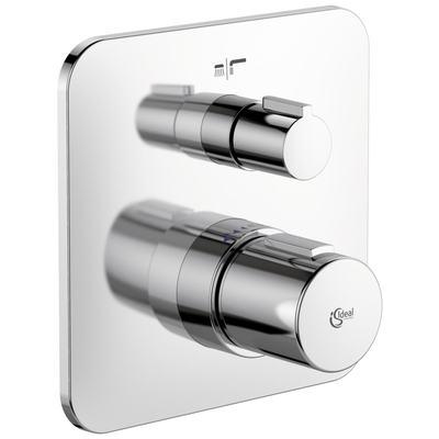Tonic II Термостатический индивидуальный встраиваемый смеситель для ванны/душа