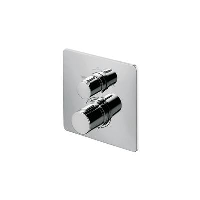Easybox Slim thermostatic built-in shower mixer with diverter