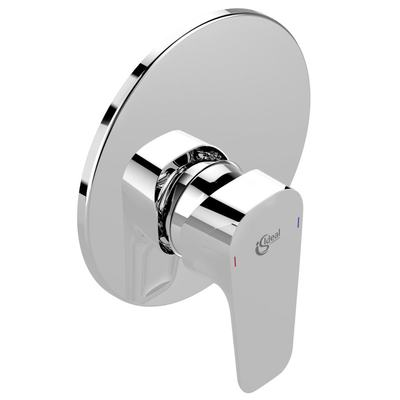 CERAPLAN III вграден смесител за душ Хром