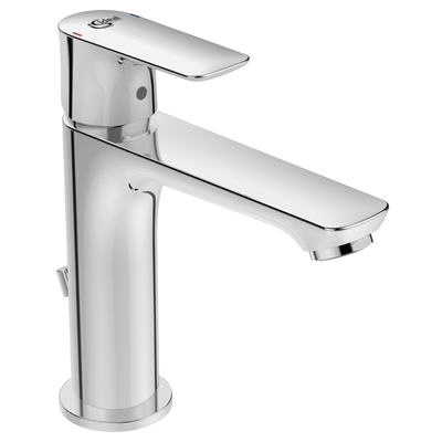 One-hole basin mixer GRANDE with pop-up waste, 5 l/min flow rate