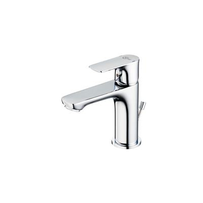 Slim Basin Mixer with Popup Waste