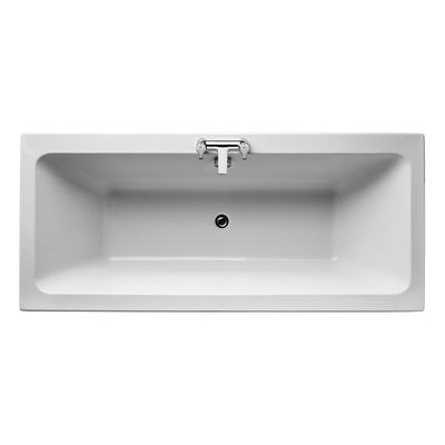 Cube 180x80cm Idealform Plus+ Double Ended Bath