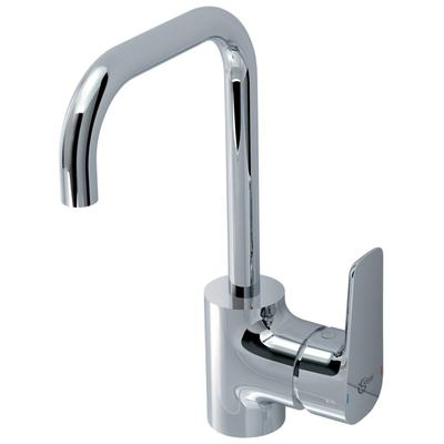 One-hole High spout Basin mixer with metal pop-up waste