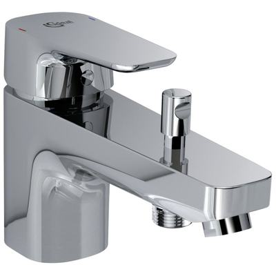 One-hole bath & shower mixer