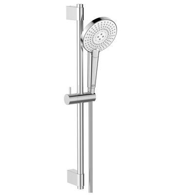 Round Hand shower 125 mm and Rail kit 600 mm
