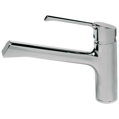 Kitchen mixer with cast spout, Window solution