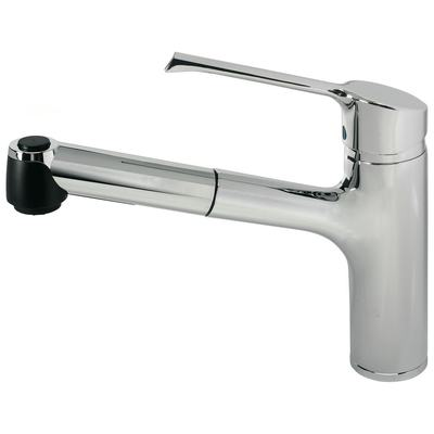 Kitchen mixer with pull-out spray