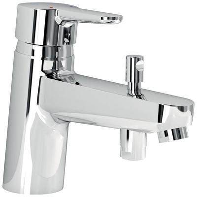 One hole bath&shower mixer RIM mounted