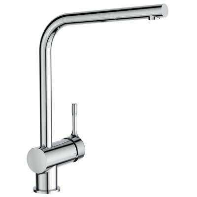 "One-hole sink mixer ""Blue Start"" with tubular spout"