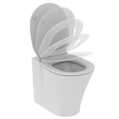 Floor standing single BTW bowl with fully hidden fixation - AquaBlade®