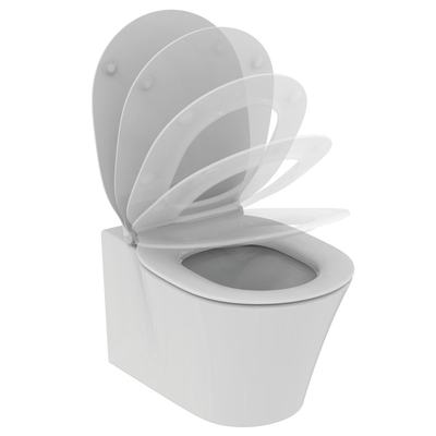 wall hung bowl with Aquablade technology