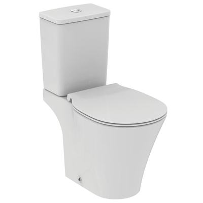 close coupled bowl with Aquablade technology - horizontal outlet