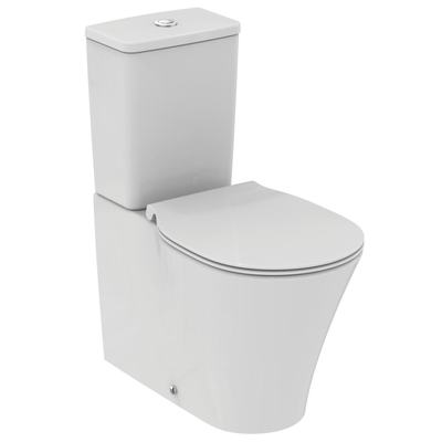 close coupled bowl / back-to wall with Aquablade Technology - horizontal outlet