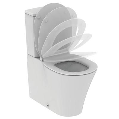Floor standing WC bowl BTW for combination - AquaBlade®