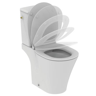 Floor standing WC bowl for combination - Rimless