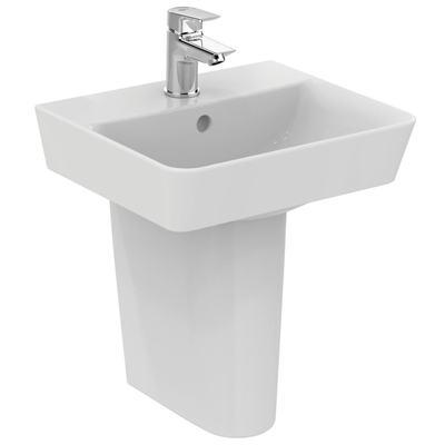 Cube 40cm handrinse basin - one taphole