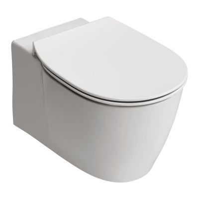 Wall Mounted WC Bowl with Aquablade technology - horizontal outlet