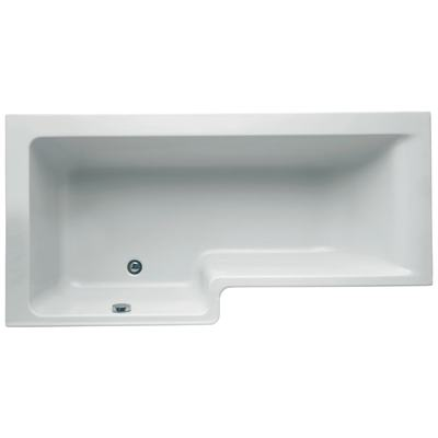 170cm Idealform Plus+ Shower Bath, Left hand