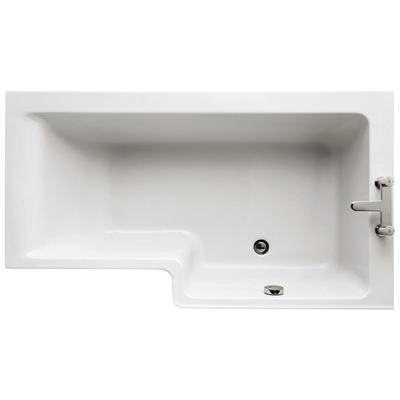 150cm Shower Bath, Right hand