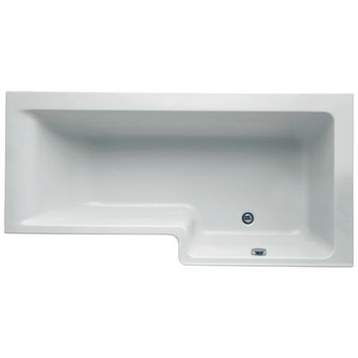 170cm Shower Bath, Right hand