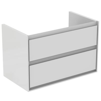 80CM Wall Hung Vanity Unit 2 drawers