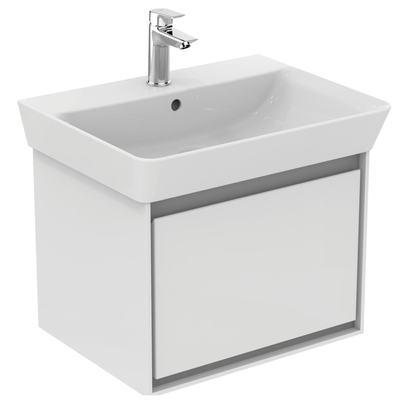 Cube 60cm pedestal basin - one taphole