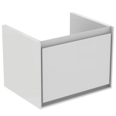 60CM Cube WH Basin unit 1 drawer