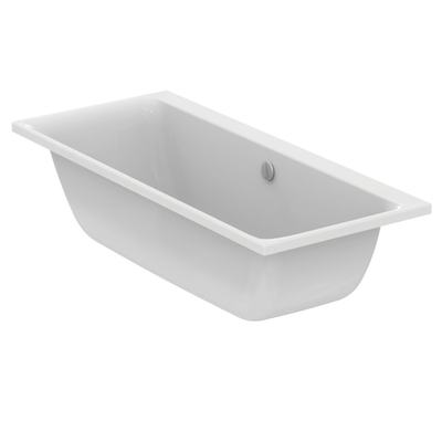 Rectangular Double-Ended Bathtub 170x75 cm for built-in installation only
