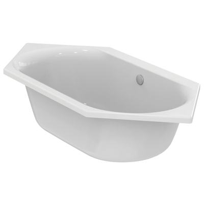 Hexagonal bathtub 190x90 cm