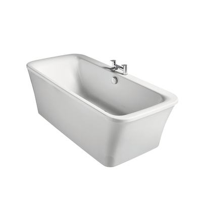 170x79cm Freestanding Bath with Tapdeck