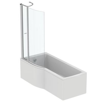 Idealform 170x80cm Shower Bath - Left Hand