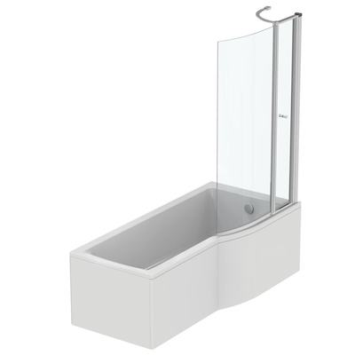 Idealform 170x80cm Shower Bath - Right Hand