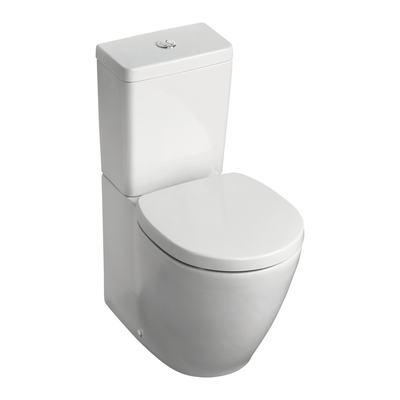 Back To Wall Close Coupled WC Bowl